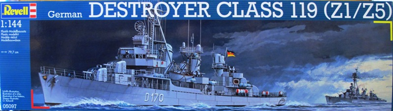 REVELL DDG 11a